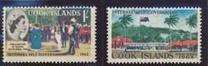 Cook Islands Stamps Scott #160 To 163, Mint Hinged - Free U.S. Shipping, Free...