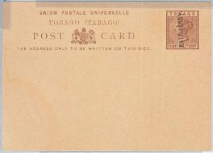 65896 -  TOBAGO - Postal History -  POSTAL STATIONERY CARD:  H & G # 3