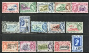 Cayman Islands # 135-49, Used. CV $ 53.00