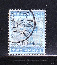 British East Africa 57 U Queen Victoria