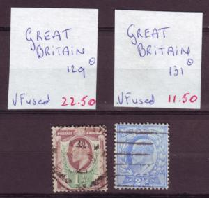 J26 jl,s stamps 1902 great britain kevII better used