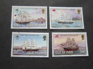 Isle Of Man 1988 Sc 367-370 set MNH