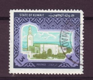 J11485 JL stamps 1981 kuwait used part of set #870 view