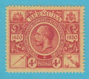 BERMUDA 77 MINT HINGED OG *  NO FAULTS VERY  FINE !