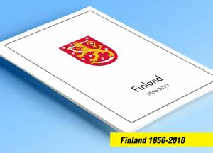 COLOR PRINTED FINLAND 1856-2010 STAMP ALBUM PAGES (218 illustrated pages)