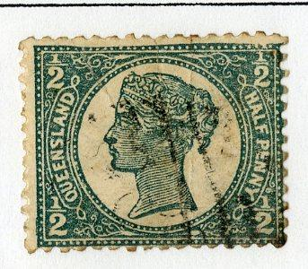 QUEENSLAND 112 USED SCV $8.50 BIN $3.50 ROYALTY