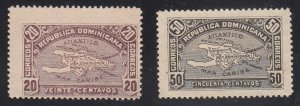 Dominican Republic - 1900 - SC 117-18 - H