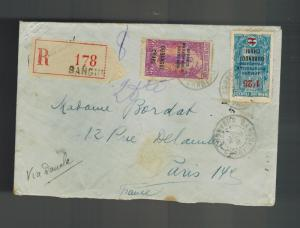 1931 Ubangi Shari AOF Cover to France
