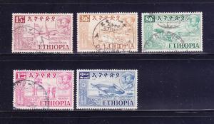 Ethiopia 327, 329, 332-334 U Various