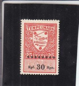 Estonia: Documentary Tax Stamp, #293 (11495)