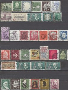 COLLECTION LOT OF #1224 GERMANY 35 STAMPS 1936+ CLEARANCE CV+$30