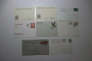 Lot 8 Sverige & Stockholm Sweden Maxi Card postal fdc postcard 1975 1995  used