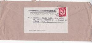 GB 1952 Elizabeth II Field Post Office 899 to London SW1 Cover VGC