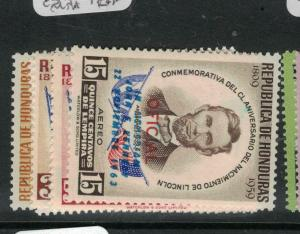 Honduras SC CO98-101 CO 104, CO106 MNH (6dwk)