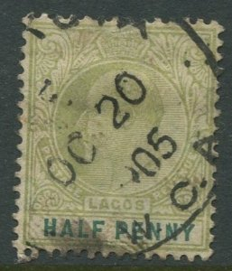 STAMP STATION PERTH Lagos #50 KEVII Definitive Used 1904-5