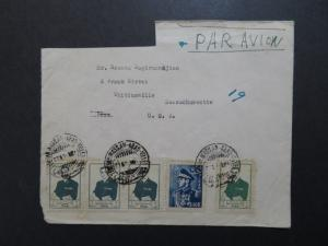 Persia Airmail Cover to USA Address Cut / US SHIPPING ONLY - Z8511