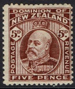 NEW ZEALAND 1909 KEVII 5D PERF 14