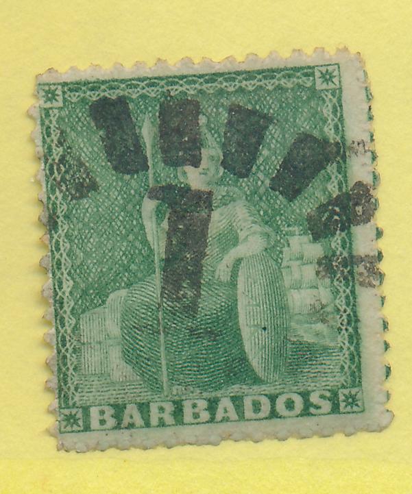 Barbados Stamp Scott #13, Used - Free U.S. Shipping, Free Worldwide Shipping ...