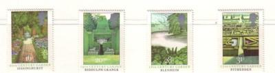 Great Britain Sc 1027-0 1983 Public Garden stamp set mint NH