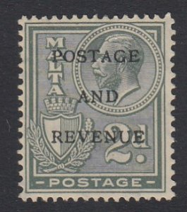 Malta Sc 154 (SG 180), MHR