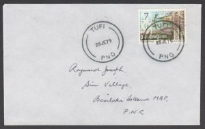 PAPUA NEW GUINEA 1979 cover ex TUFI.........................................M395
