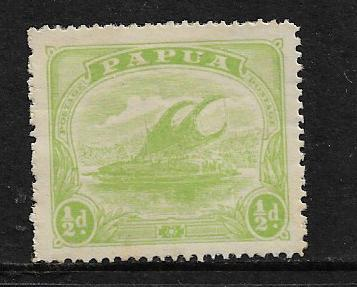 PAPUA  NEW GUINEA   50 MINT HINGED, LAKATOI ISSUE 1911