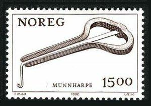 Norway 804,MNH.Michel 864. Jew's Harp,1982.