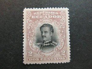 A4P46F39 Ecuador 1899 2c mnh**