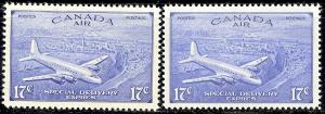 Canada #CE3 and CE4 VF NH