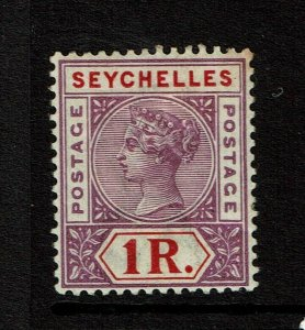 Seychelles SC# 19, Mint Hinged, Hinge Remnants, minor toning - S11662