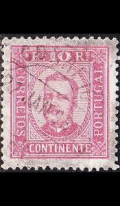 PORTUGAL [1892] MiNr 0067 yB ( O/used )