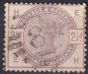 Great Britain #101 F-VF Used CV $18.00 (Z1458)