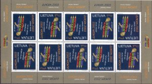 Lithuania. 2003. 816. Year of the poster. MNH.