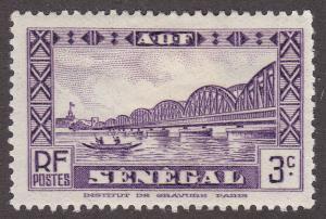 Senegal 144 Faidherbe Bridge, St. Louis 1940