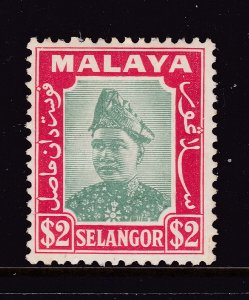 Selangor a $2 MH from the 1941 pair