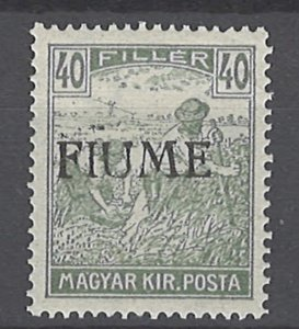 COLLECTION LOT # 2016 FIUME #12 MNH 1918 CV= $225