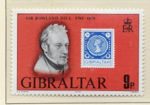 Gibraltar 1979 QEII Early Issue Fine Mint Unmounted 9p. NW-99285