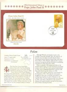 PALAU COVER,TRIBUTES POPE JOHN PAUL II, 2005  # P8