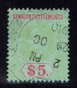 Straits Settlement SG# 167, Used.      Lot 03292015