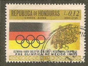 Honduras    Scott  C433    Olympics    Used