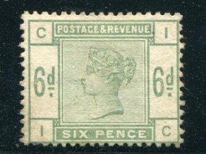 Great Britain #105 Mint  F-VF  - Lakeshore Philatelics