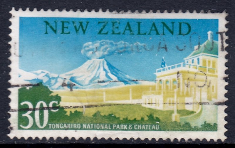 New Zealand - Scott #400 - Used - Crease - SCV $4.25