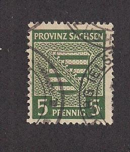 GERMANY - DDR SC# 13N3 F-VF U 1945