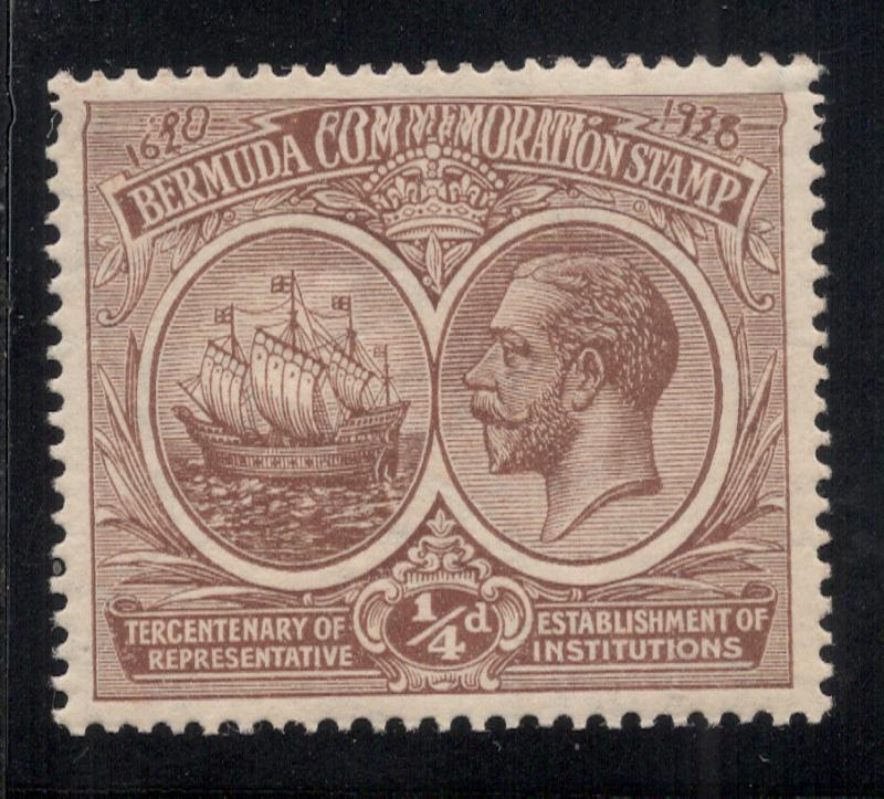 Bermuda #55 Brown - Unused - O.G. - L.H.