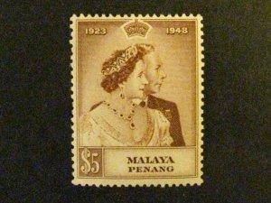 Malaya-Penang #2 mint hinged  c203 483