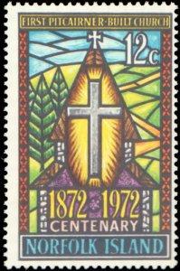 Norfolk Islands #151, Complete Set, 1972, Christmas, Never Hinged