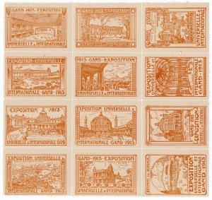(I.B) Belgium Cinderella : Universal Exhibition (Gent 1913)