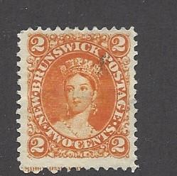 Canada (New Brunswick), 7, Victoria Single,**Used**