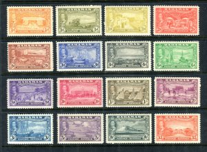 Bahamas 1948. Tercentenary COMPLETE set of 16. Mint. NH. SG178/193.