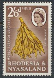 Rhodesia & Nyasaland  SG 46 SC# 187  Used  Tobacco see scan and detail